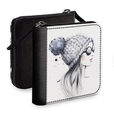 Sizzling Girl Square Wallet
