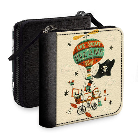 Let Your Dreams Fly Square Wallet