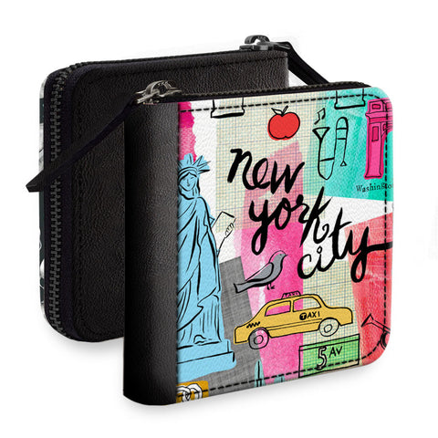 New York City Square Wallet
