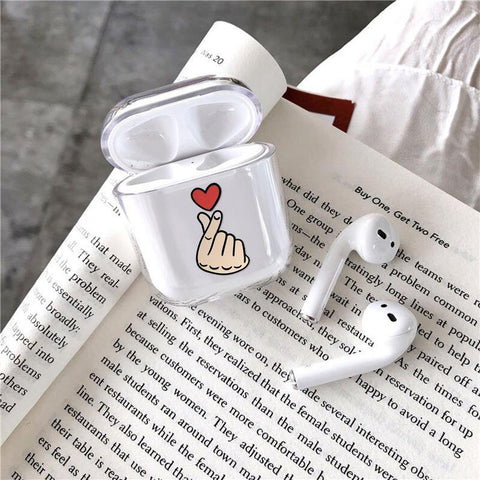 little-heart-airpods-case