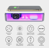 Phone UV Sterilizer with Wireless Charging