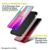 Vibrant Strokes Glass Case for Vivo V19