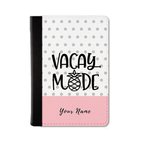 Vacay Mode Custom Passport Wallet