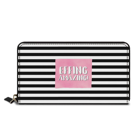 Feeling Amazing Classic Zipper Wallet