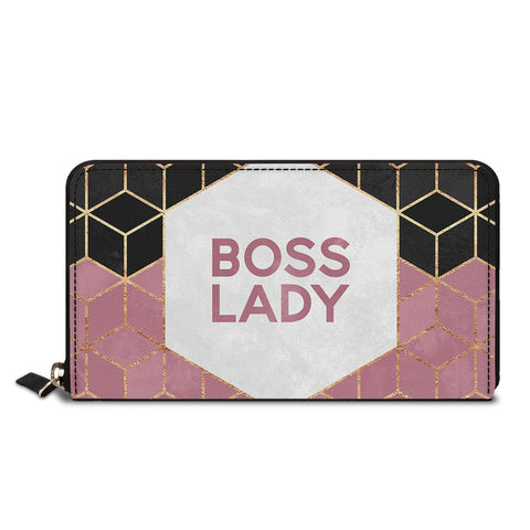 Boss Lady Classic Zipper Wallet