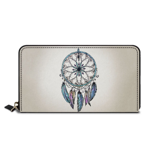 Dreamcatcher Design Classic Zipper Wallet