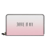 Shake It Off Classic Zipper Wallet