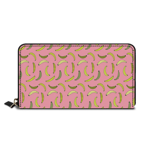 Banana Design Classic Zipper Wallet
