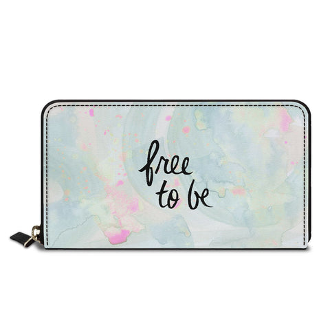 Free To Be Classic Zipper Wallet