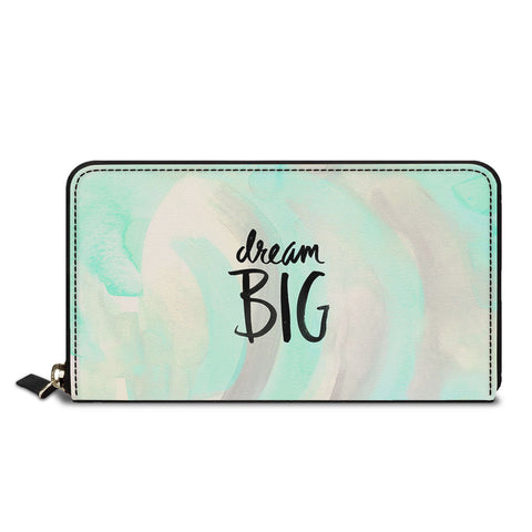 Dream Big Classic Zipper Wallet