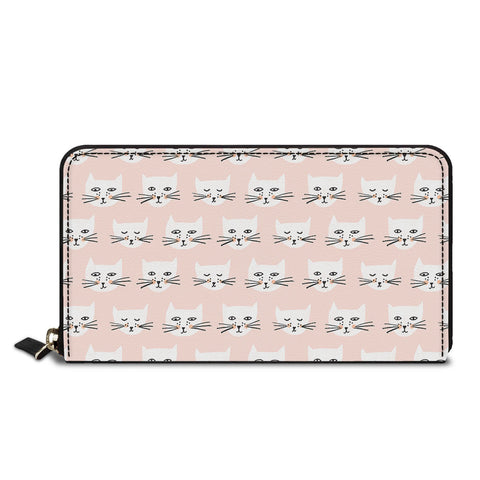 Cute Cat Classic Zipper Wallet