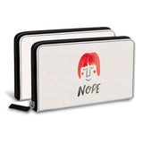 Red Hair Classic Zipper Wallet