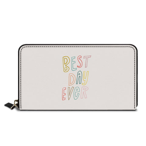 Best Day Ever Classic Zipper Wallet