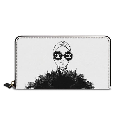 Being Branded Classic Zipper Wallet