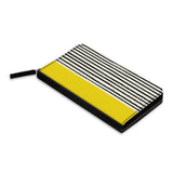 Stripes Design Classic Zipper Wallet