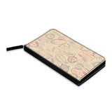Stamp art Classic Zipper Wallet