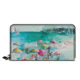 Wow Beach Classic Zipper Wallet