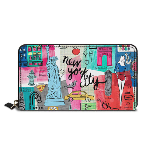 New York City Classic Zipper Wallet