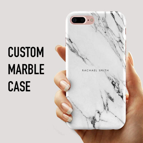 Custom Marble Phone Cover