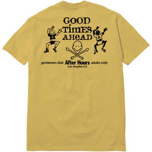 AFTER HOURS TEE - GOLD