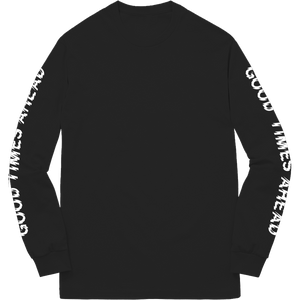 GLOBAL LONGSLEEVE - BLACK
