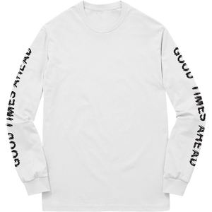 GLOBAL LONGSLEEVE - WHITE