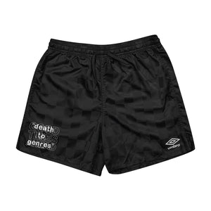 MASH UP UMBRO SHORTS - BLACK