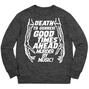 MURDER CREW NECK - BLACK