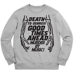 MURDER CREW NECK - CHARCOAL