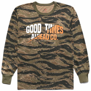 TIGER CAMO LONG SLEEVE
