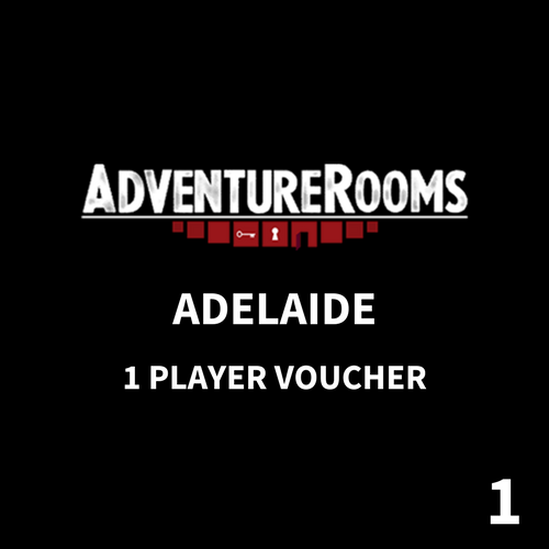 Adelaide Gift Voucher - 1 Player