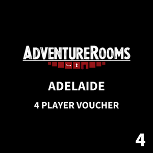 Adelaide Gift Voucher - 4 Players (MOST POPULAR)