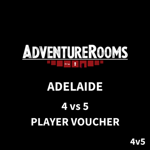 Adelaide Gift Voucher - 9 Players (4 vs 5 Duel)