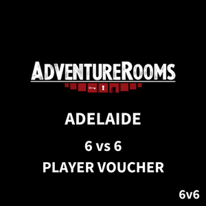 Adelaide Gift Voucher - 12 Players (6 vs 6 Duel)