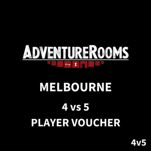 Melbourne Gift Voucher - 9 Players (4 vs 5 Duel)