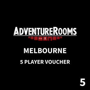 Melbourne Gift Voucher - 5 Players