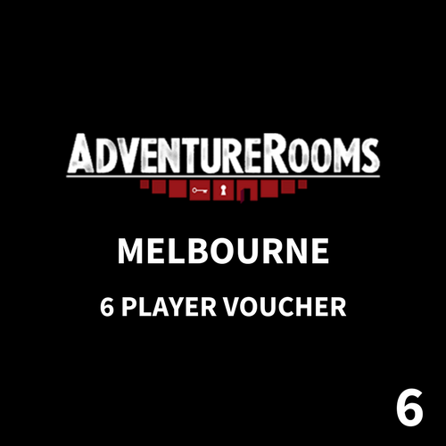 Melbourne Gift Voucher - 6 Players