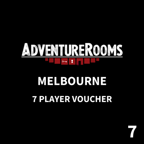 Melbourne Gift Voucher - 7 Players