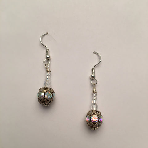 Vintage Beaded Earrings #1