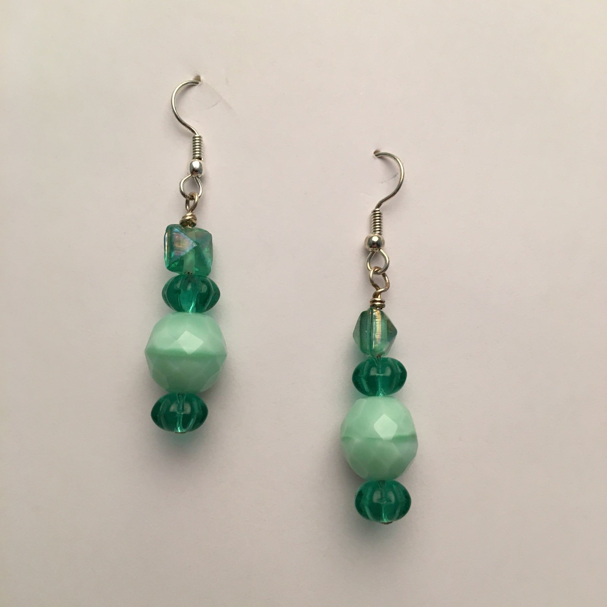 Vintage Beaded Earrings #2