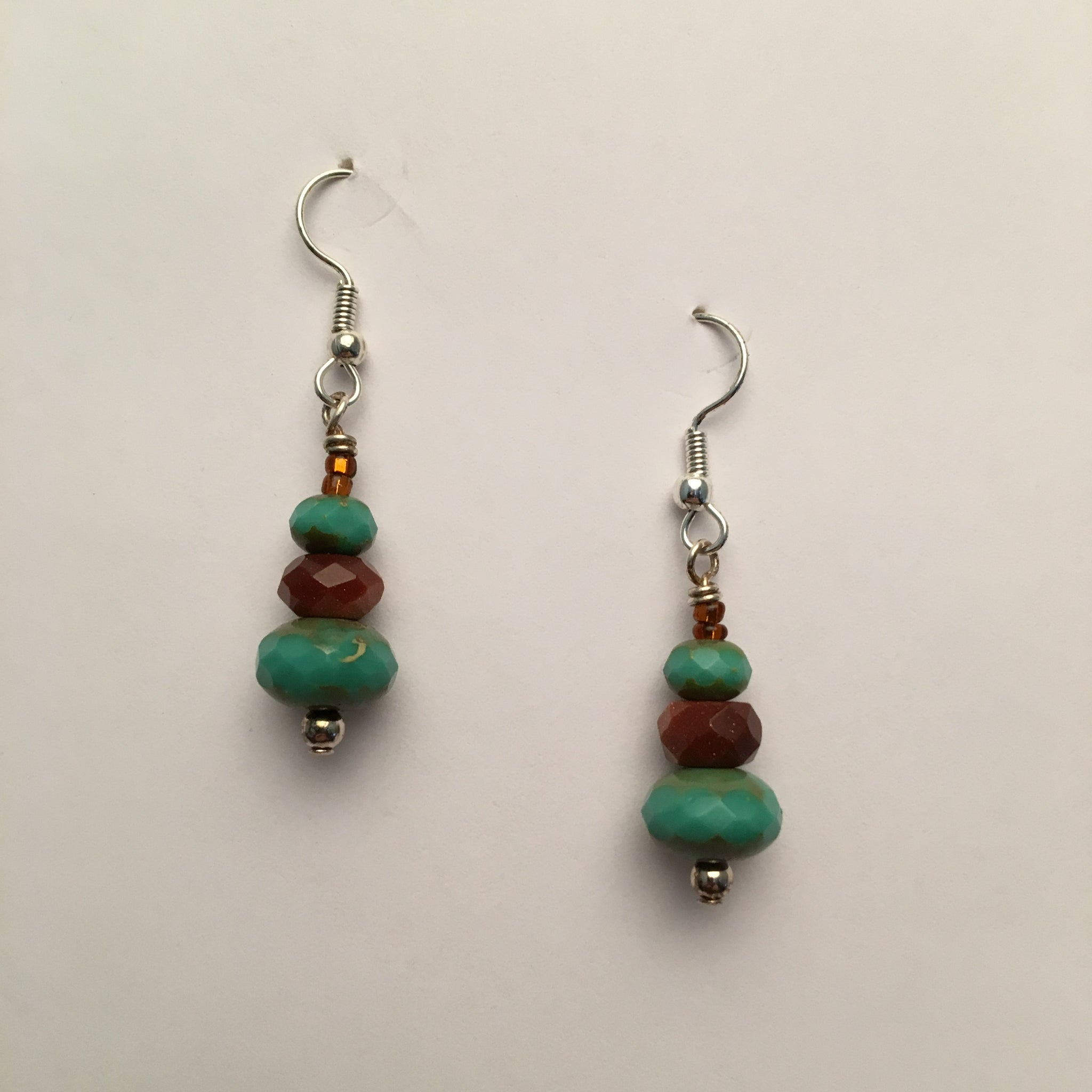 Vintage Beaded Earrings #7