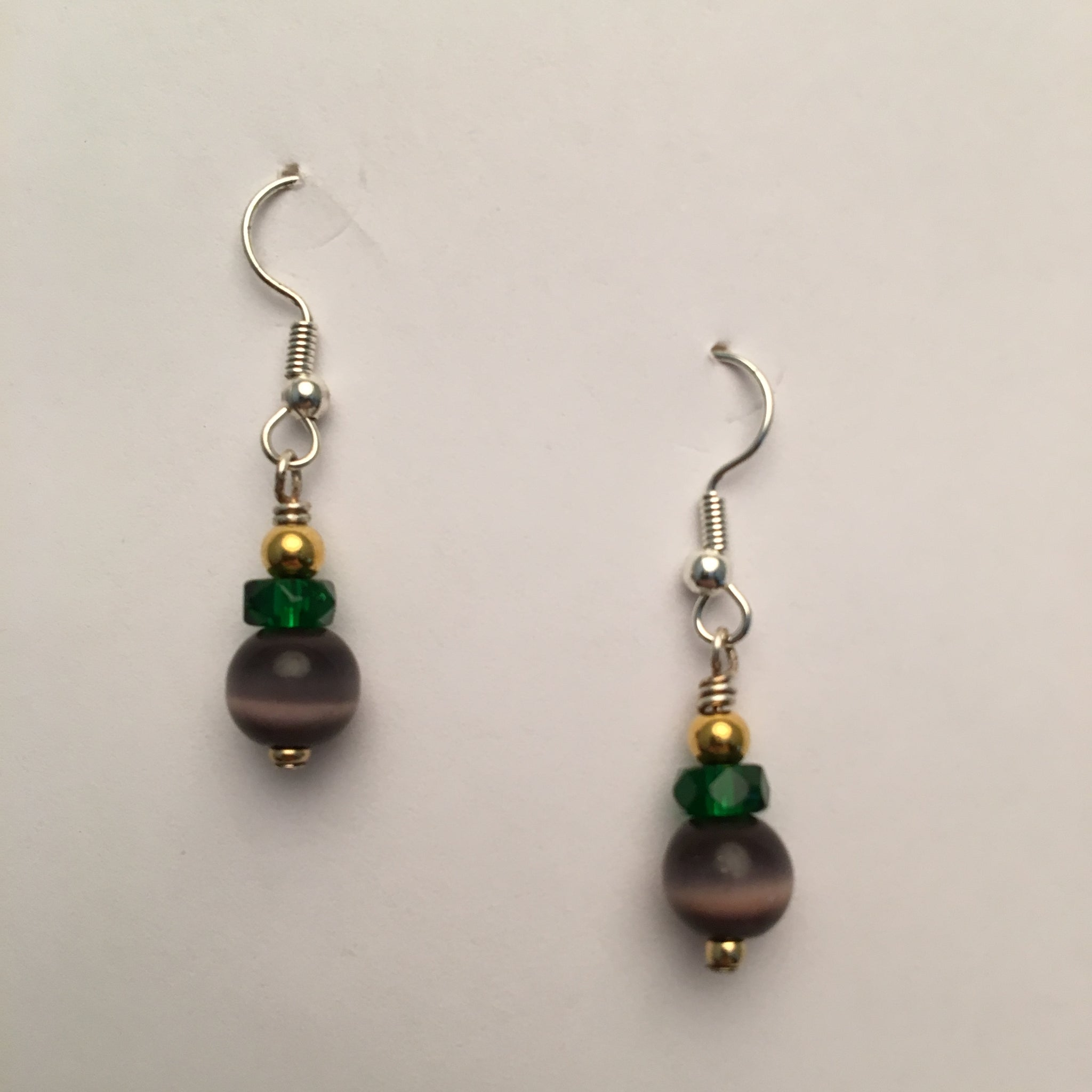Vintage Beaded Earrings #8