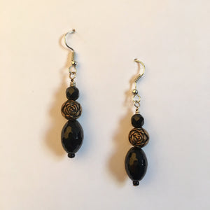 Vintage Beaded Earrings #3