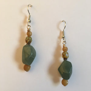 Vintage Beaded Earrings #10