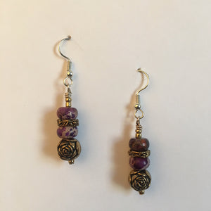 Vintage Beaded Earrings #11