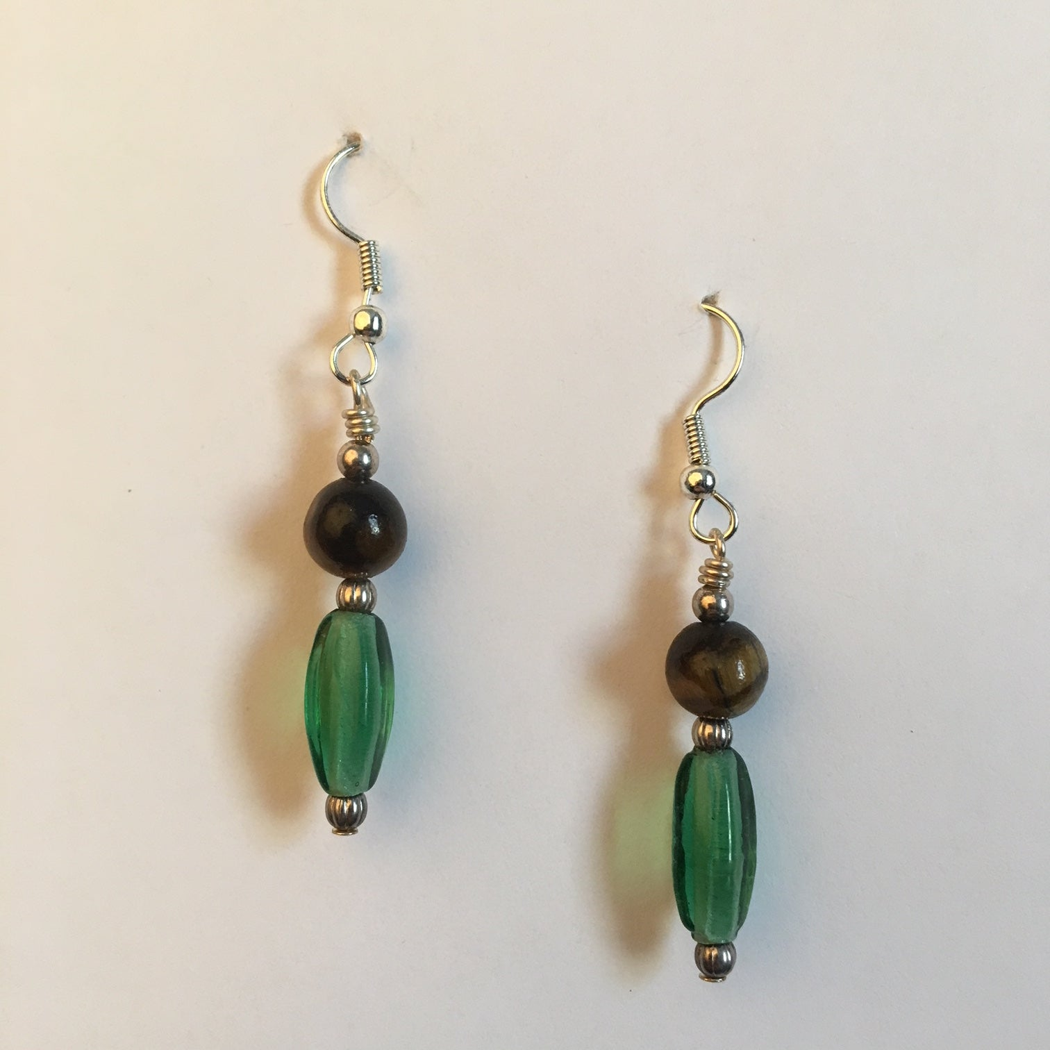 Vintage Beaded Earrings #12