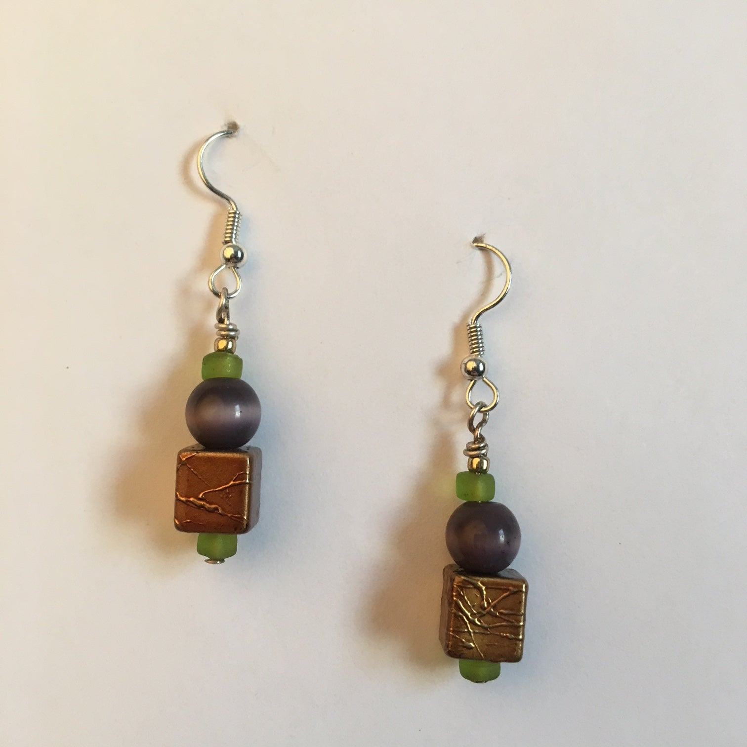 Vintage Beaded Earrings #13