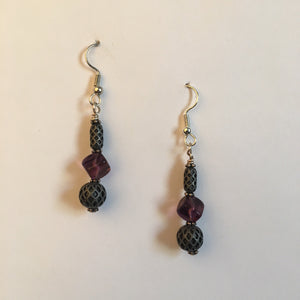 Vintage Beaded Earrings #16