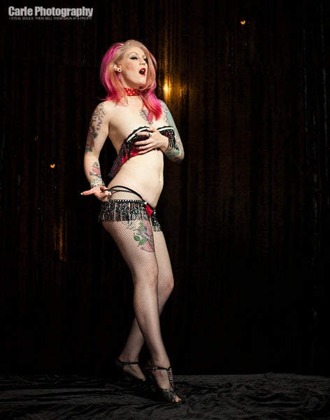 1 Hour Burlesque Photo Session