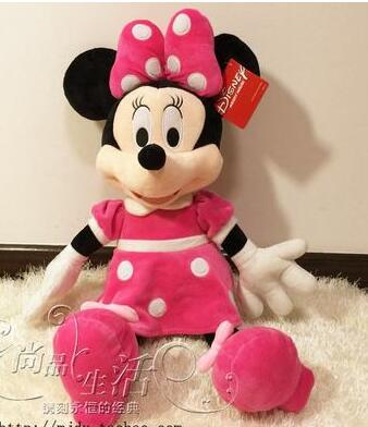 Mickey Minnie Mouse Plush Toy Fluffy Huggables Zone